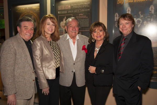 Jerry Mathers, Lee Purcell, Milt Larsen, Dawn Wells and Jay Johnson Photo