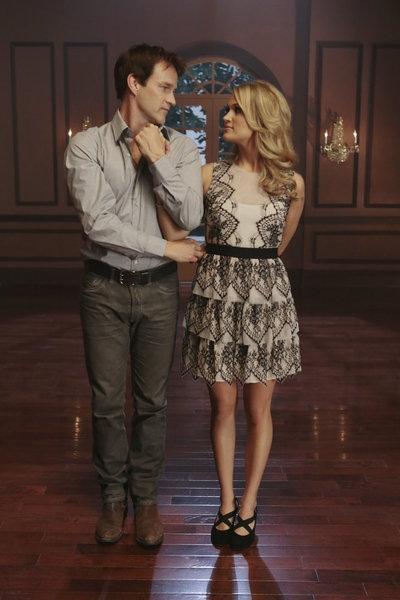Stephen Moyer, Carrie Underwood Photo