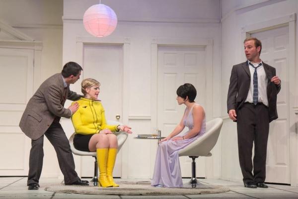 Matt Austin, Vicki Sosbe, Reesa Roccapriore as Gabriella, and James Hipp