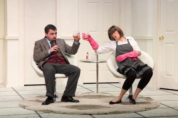 Matt Austin and Jody Bayer as Berthe