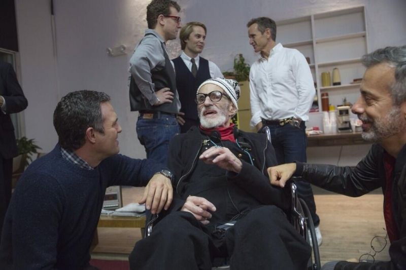 Mark Ruffalo Shares Larry Kramer THE NORMAL HEART Set Visit Photo