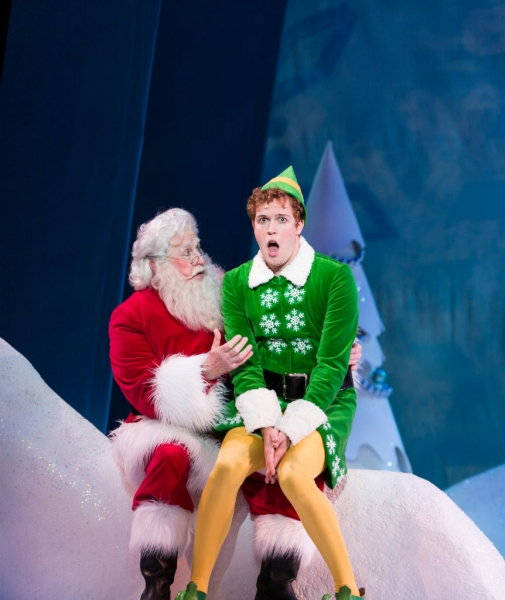 Photo Flash: Sneak Peek at ELF THE MUSICAL, Coming to TUTS Starring Tommy J. Dose and More!