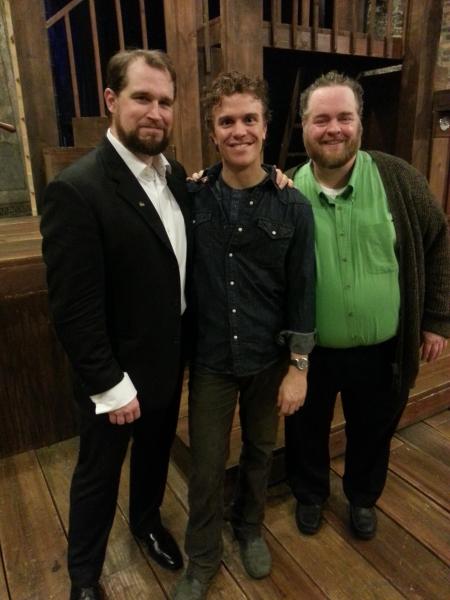 Karl Hamilton, Christian Libonati and Thomas M. Shea Photo