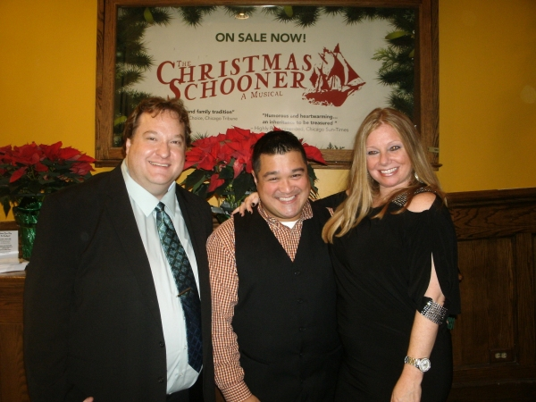 Photos: THE CHRISTMAS SCHOONER Celebrates Opening at the Mercury Theater