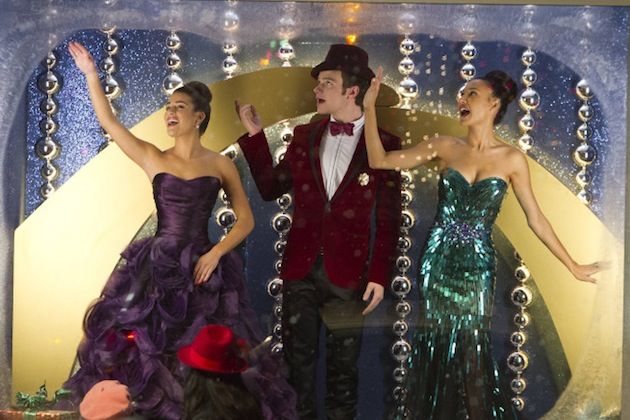 SOUND OFF: GLEE's Scandalous Spin On Santa & The Supremes