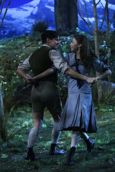 Michael Campayno as Rolf Gruber, Ariane Rinehart as Liesl