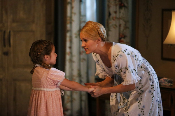 Peyton Ella as Gretl, Carrie Underwood as Maria
