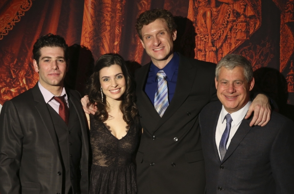 Ben Jacoby (Raoul), Julia Udine (Christine Daae), Mark Campbell (The Phantom) and Cameron Mackintosh