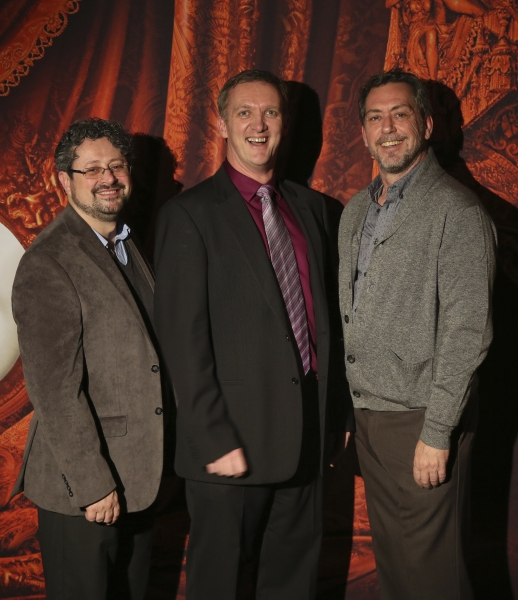 Laurence Connor (Director), John Rigby (Musical Supervisor) and Scott Ambler (Choreographer)