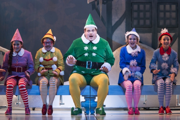 Photo Flash: First Look at Tommy J. Dose and More in TUTS' ELF THE MUSICAL, Opening Tonight