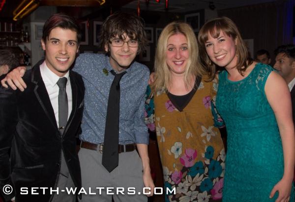 Trevor McQueen, Matt Aument, Lisa Lambert and Julia Johanos Photo