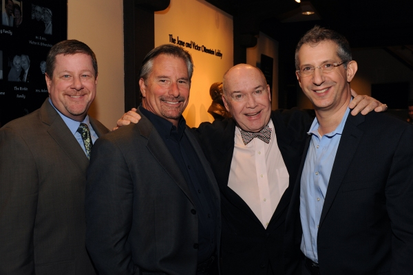 Old Globe Managing Director Michael G. Murphy, Former Managing Director Tom Hall, Artistic Director Emeritus Jack O''Brien, and Artistic Director Barry Edelstein