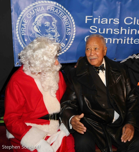 Friar Marvin Scott & Friar Mayor David Dinkins