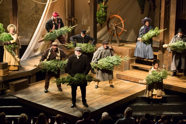 Photo Flash: First Look at Mercury Theater's THE CHRISTMAS SCHOONER