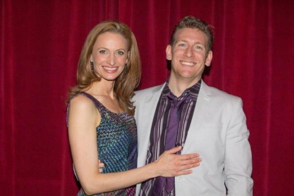 Jessica Burrows Van Kipp and Christian Van Kipp  Photo