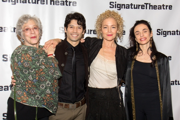 Martha Clarke, Herman Cornejo, Amy Irving, Alessandra Ferri