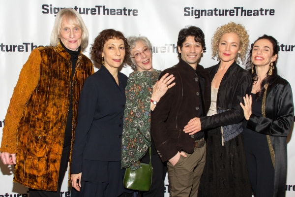Tina Howe, Sarah Rothenberg, Martha Clarke, Herman Cornejo, Amy Irving, Alessandra Fe Photo