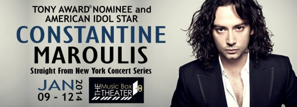 BWW Interviews: Constantine Maroulis Talks Solo Cabaret in January