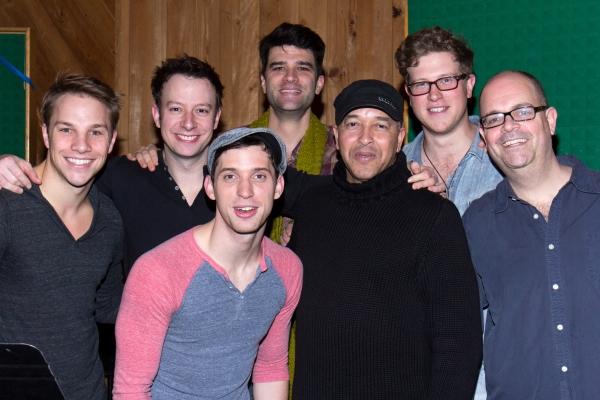 Joshua Buscher, Alex Brightman, Jason Lee Garrett, Ben Crawford, JC Montgomery, Prest Photo
