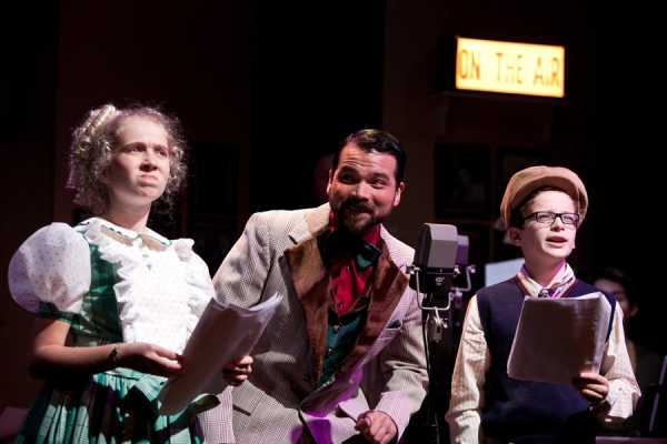 Photo Flash: First Look at Pantochino's THE GREAT CINNAMON BEAR CHRISTMAS RADIO SHOW, Now Playing