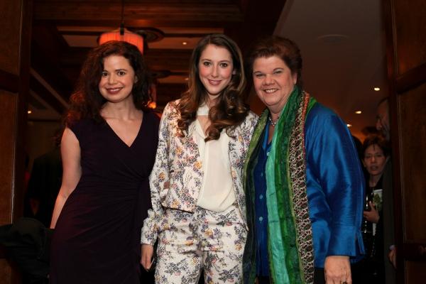 Abby Wilde, Carmela Corbett, Mary-Pat Green