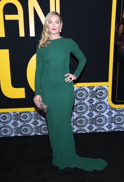 Elisabeth Rohm at the  ''American Hustle'' film premiere in New York (Photo by Evere Photo