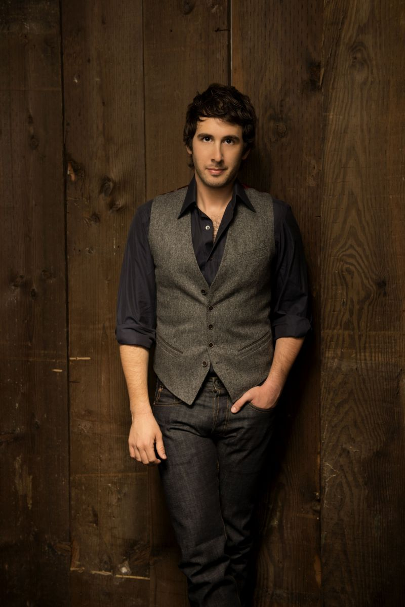 Josh Groban Set For LATE SHOW WITH DAVID LETTERMAN Top Ten Appearance, 12/11