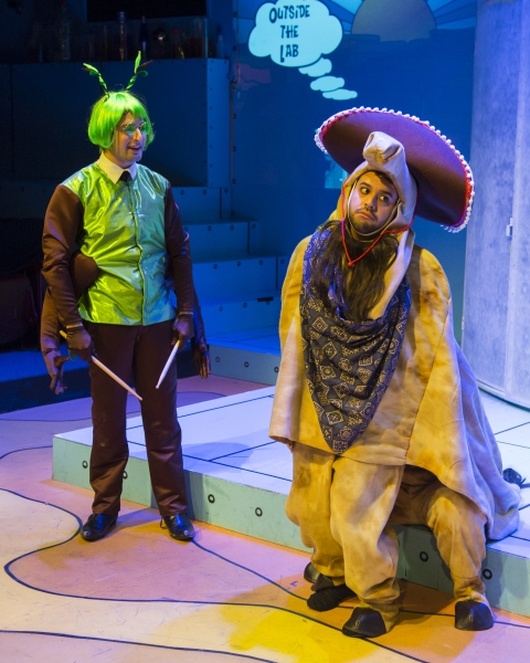 BWW Reviews: Stages Repertory Theatre's PANTO GOLDILOCKS is Double O'Fun