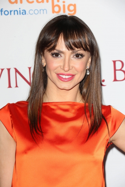 Mandatory Credit: Photo by Jim Smeal/BEImages (1832440df)Karina Smirnoff''Saving Mr. Banks''  film premiere, Los Angeles, America - 09 Dec 2013