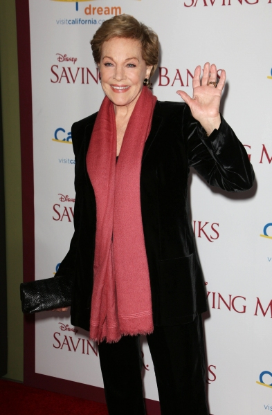 Photo Flash: Dick Van Dyke, Julie Andrews Join Hanks, Thompson at SAVING MR. BANKS Premiere