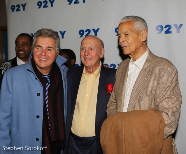 Steve Tyrell, Mike Stoller, Julian Bond