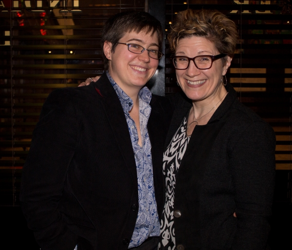 Madeline George and Lisa Kron