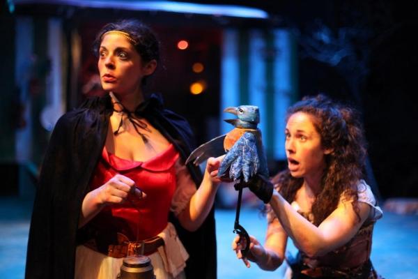 Ann Sonneville as Princess Sara and Sarah Scanlon as Sallie