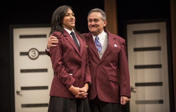 Tawny Newsome (Ella) and Ricardo Gutierrez (Jeffrey)