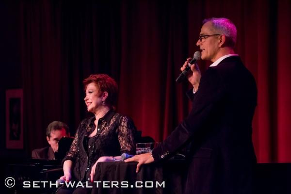 Donna McKechnie and Jerry Mitchell