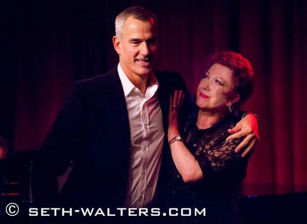 Jerry Mitchell and Donna McKechnie