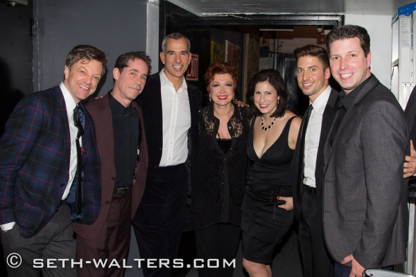 Jim Caruso, Ian Herman, Jerry Mitchell, Donna McKechnie, Nikki MacCallum, Nick Adams and Wayne Gmitter