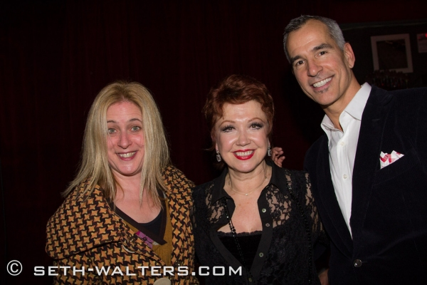 Lisa Lambert, Donna McKechnie and Jerry Mitchell
