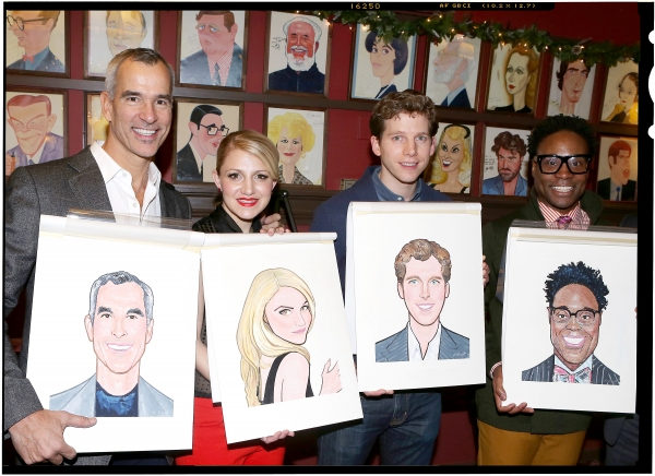FREEZE FRAME: KINKY BOOTS' Billy Porter, Stark Sands, Annaleigh Ashford & Jerry Mitchell Unveil Sardi's Portraits!