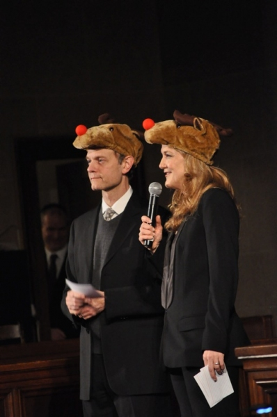 Photo Flash: David Hyde Pierce, Kelli O'Hara & More Attend Church of St. Paul and St. Andrew Holiday Benefit; Victoria Clark Hosts