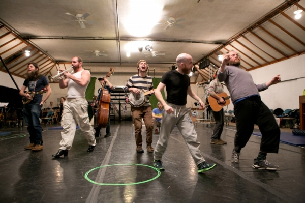 Photo Flash: First Look at Rehearsals for A.R.T.'s THE HEART OF ROBIN HOOD