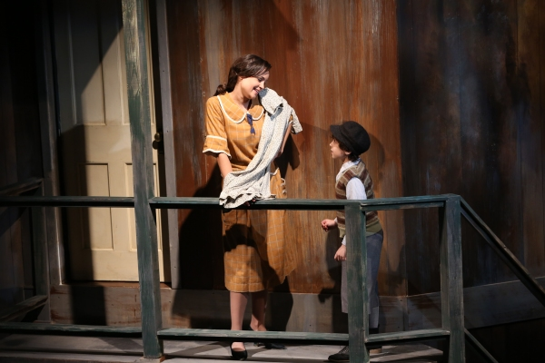 Photo Flash: National Yiddish Theatre - Folksbiene's LIES MY FATHER TOLD ME, Now Playing Through 12/15