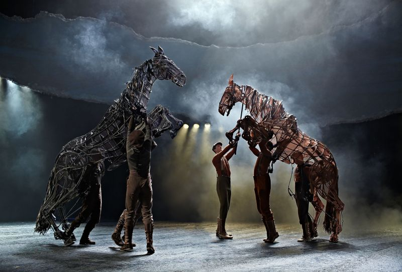 Photo Flash: WAR HORSE at the New London Theatre