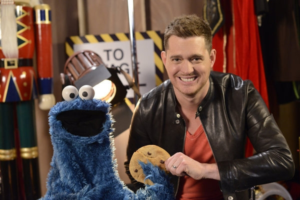 Cookie Monster, Michael Buble