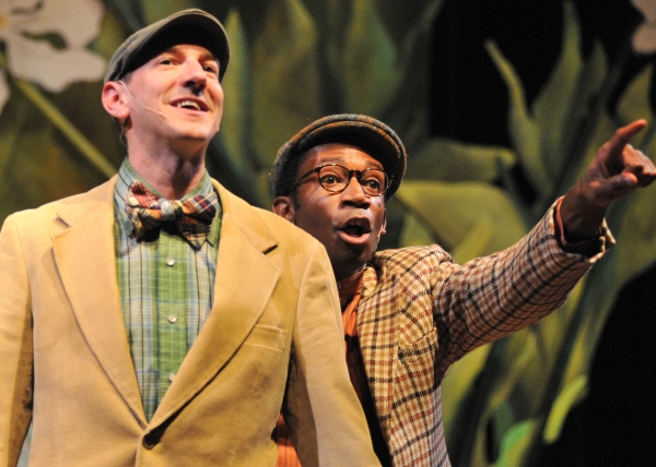 Derek Travis Collard (Frog) and Anthony Rollins-Mullens (Toad)