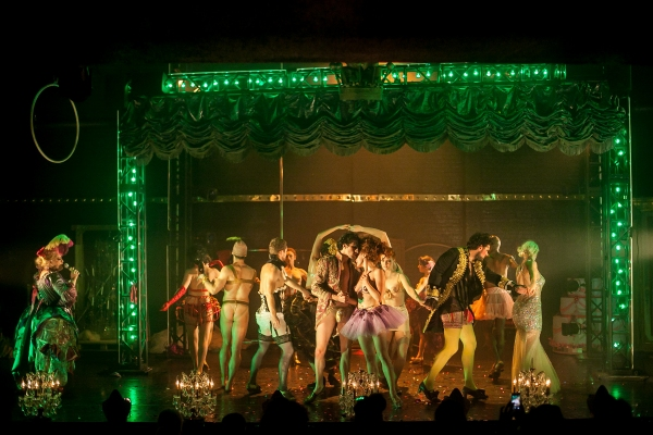 Photo Flash: First Look at Company XIV's NUTCRACKER ROUGE Off-Broadway