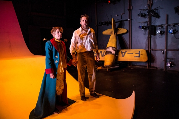 Amelia Hefferon (Little Prince) and Ian Barford (Aviator)