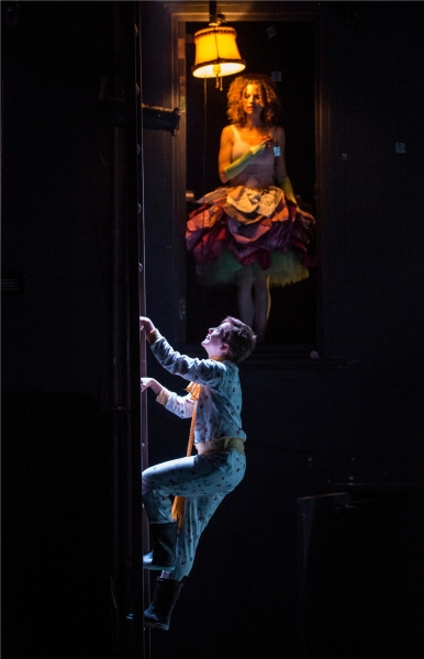 Amelia Hefferon (Little Prince) and Louise Lamson (Rose) Photo