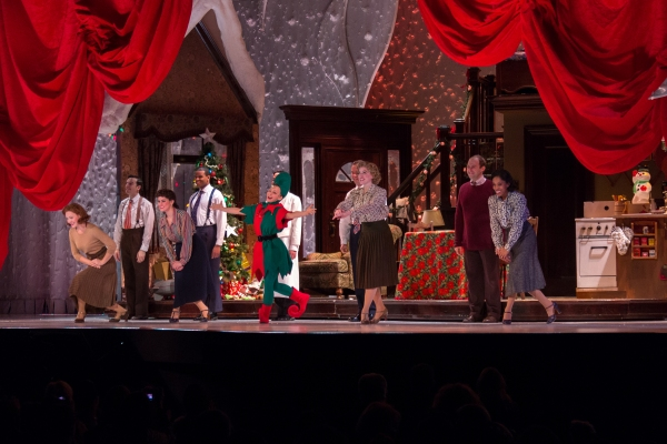Photo Coverage: A CHRISTMAS STORY Returns to NYC! Inside the Opening Night Curtain Call