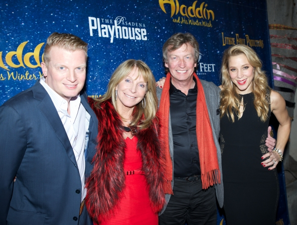 Producers Kris Lythgoe, Becky Baeling, and Nigel Lythgoe pose with Director Bonnie Lythgoe